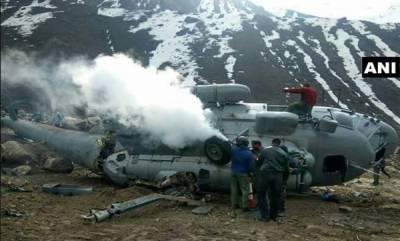 india-mig-17-chopper-crashes-near-kedarnath
