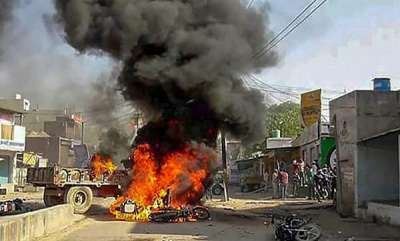 latest-news-massive-attack-on-dalit-houses-following-bharat-bandh