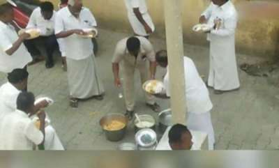 latest-news-eating-biryani-consuming-liquor-during-one-day-hunger-strike