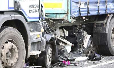 latest-news-accident-in-kasargod-car-crushed-under-truck
