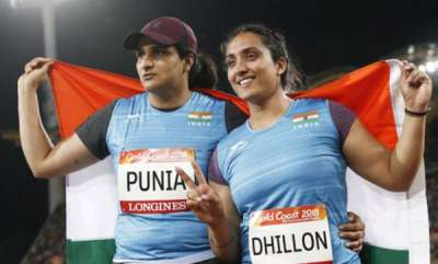 latest-news-cwg-2018-seema-punia-wins-silver-navjeet-dhillon-claims-bronze-in-discus-throw