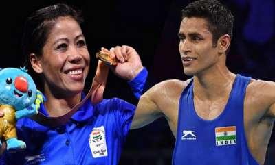 sports-mary-kom-gaurav-solanki-claim-gold-on-cwg-debut