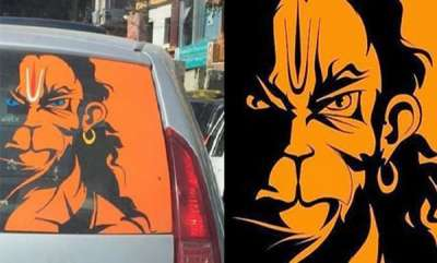 kerala-kerala-activist-to-boycott-cabs-with-angry-hanuman