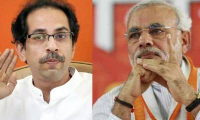 india-sena-slams-modi-for-speaking-on-domestic-issues-abroad