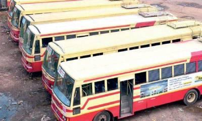 latest-news-fire-in-thiruvananthapuram-ksrtc-pappanamcode-depot