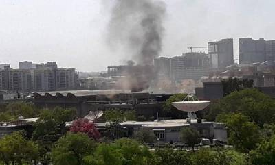 india-major-fire-at-isro-research-centre-in-ahmedabad