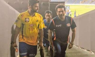 sports-news-csks-ramesh-and-suresh-tweet-involving-sachin-tendulkar-and-suresh-raina