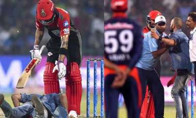 sports-news-fan-breaches-security-to-touch-virat-kohlis-feet-sneaks-in-a-selfie-watch-video