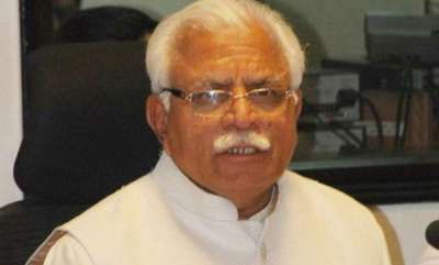 latest-news-man-detained-for-throwing-ink-on-haryana-cm-manohar-lal-khattar