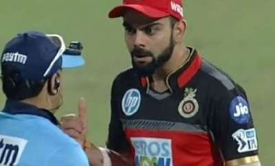 sports-news-virat-kohli-angry-at-third-umpire-on-seeing-a-catch-decision-being-overruled-watch-video