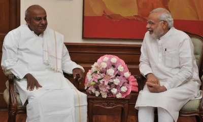 latest-news-narendra-modi-wishes-dev-gauda-on-his-85th-birthday