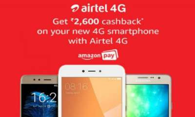 tech-news-airtel-amazon-to-offer-rs2600-cashback-on-budget-4g-smartphones