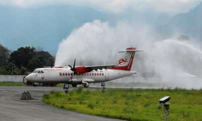 latest-news-first-commercial-flight-lands-in-arunachal-pradesh