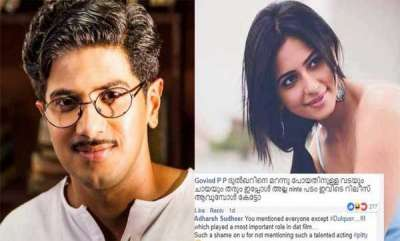 entertainment-fans-roasts-actress-for-not-mentioning-dulquer-salmaan-in-fb-post
