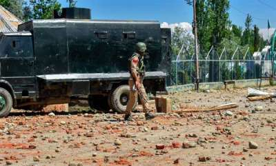 latest-news-crpf-vehicle-attacked-by-mob-allegedly-runs-over-two-men-in-jk