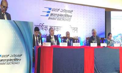 business-annual-press-conference-of-navratna-defence-psu-bharat-electronics-ltd-bel