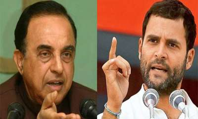 latest-news-subrahmanyan-swamy-against-rahul-gandhi