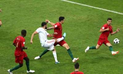 sports-news-spains-costa-first-player-to-be-awarded-world-cup-goal-through-var