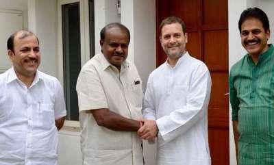 latest-news-karnataka-cm-hd-kumaraswamy-meets-rahul-gandhi-and-home-minister-rajnath-singh