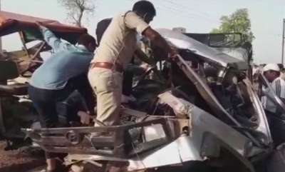 latest-news-12-killed-eight-injured-as-tractor-laden-with-illegally-mined-sand-rams-suv-in-mps-morena