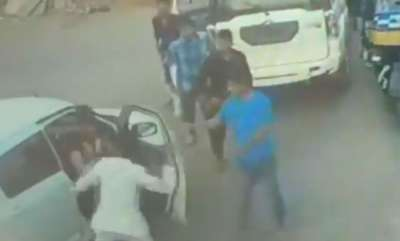latest-news-bjp-mlas-son-thrashes-man-for-not-allowing-his-car-to-pass