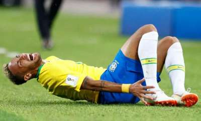 latest-news-world-cup-2018-brazil-superstar-neymar-has-spent-14-minutes-rolling-on-the-floor-this-tournament