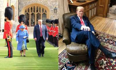 world-uk-fumes-as-trump-makes-queen-wait-for-him-in-searing-heat