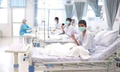 world-rescued-thai-cave-boys-to-leave-hospital-thursday
