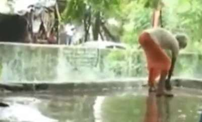 latest-news-woman-mla-offers-prayers-temple-purified-with-holy-water