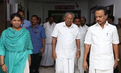kerala-pinarayi-visits-hospital-enquires-about-karunanidhis-health