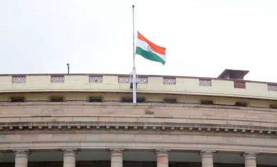 india-parliament-adjourns-as-mark-of-respect-to-karunanidhi