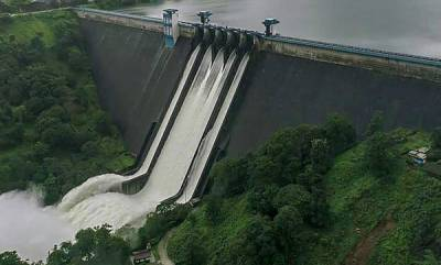 kerala-water-level-decrease-at-idukki-dam-as-rain-subsides