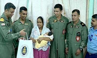 latest-news-navy-team-visits-sajida-and-her-infant-baby