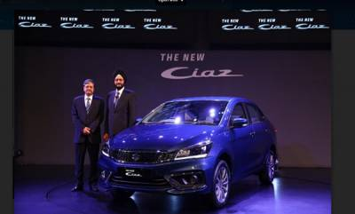 business-maruti-suzuki-rolls-out-the-new-ciaz-with-new-15-litre-petrol-engine-with-new-smart-hybrid-technology-installing-lithium-ion-battery
