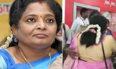 latest-news-activist-arrested-for-raising-anti-bjp-slogan-at-tamil-nadu-chief-on-plane