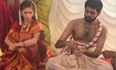 latest-news-akkeraman-agni-sharman-married-slovakian-lady