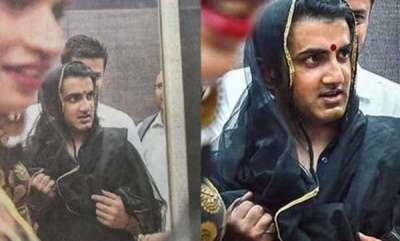 sports-news-gautam-gambhir-was-spotted-wearing-a-dupatta-and-bindi-at-an-event-heres-why
