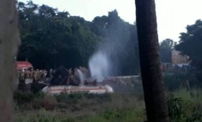 kerala-ioc-tanker-overturns-massive-fuel-leakage-in-malappuram