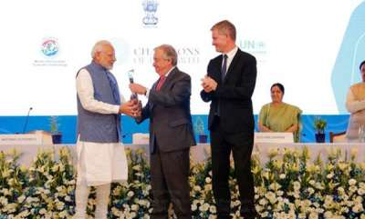 latest-news-pm-modi-receives-uns-champions-of-the-earth-award-says-indians-committed-to-saving-environment