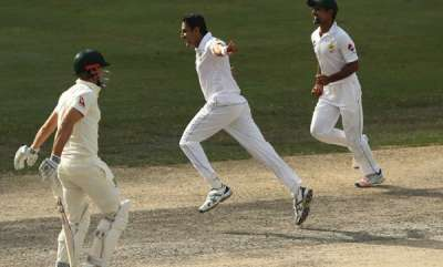 sports-news-mohammad-abbas-strikes-thrice-to-put-pakistan-in-command-in-dubai