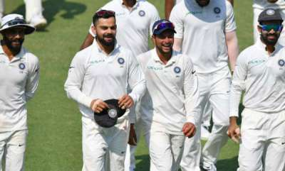 -india-vs-west-indies-second-test-day-1-at-hyderabad-windies-face-formidable-challenge-to-stop-kohli-and-co