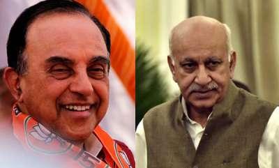 latest-news-pm-narendra-modi-should-speak-on-allegations-against-mj-akbar-subramanian-swamy-on-metoo