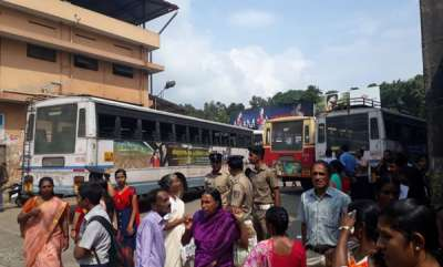 latest-news-ksrtc-workers-strike-all-over-kerala