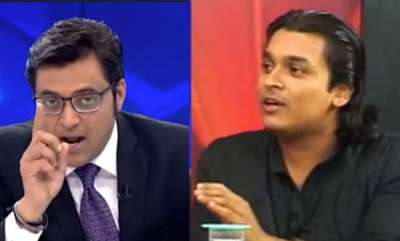 latest-news-republic-tv-reporter-attacked-in-nilaykal-arnab-goswamis-discussion-between-rahul-ishwar-goes-viral