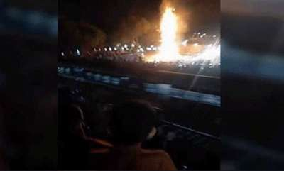 latest-news-ravan-effigy-was-being-burnt-70-80-m-from-the-gate