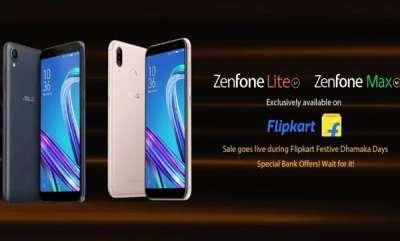 tech-news-asus-zenfone-max-m1-zenfone-lite-l1-sale-in-flipkart