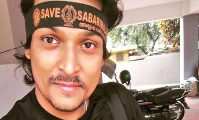 kerala-rahul-easwar-opts-walkie-talkie-for-battle-in-mountains