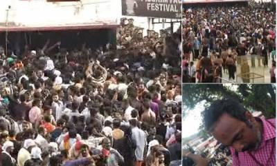 kerala-dramatic-events-at-sabarimala-clashes-at-sannidhanam-cameraman-injured