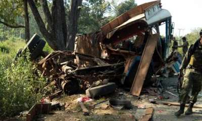 latest-news-maoists-target-bus-with-bsf-personnel-in-chhattisgarh
