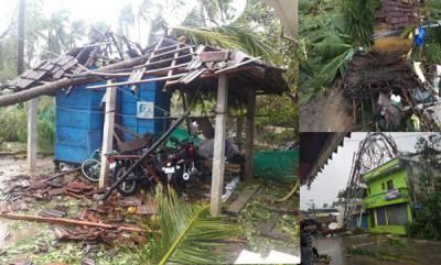 india-cyclone-gaja-11-killed-in-storm-extensive-damage-in-nagapattinam